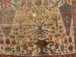 "Rare Persian Proto Afshar Rug   3'9"" x 6'"