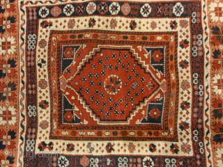 Antique Turkish Bergama Rug Woven Circa 1880