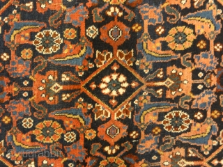 Antique Persian Afshar Herati Rug Genuine Woven Carpet. Antique Persian Afshar Herati Rug are similar to antique Caucasian rugs in their rug colors and styles. Using geometric patterns, medallions with diamond patterns  ...