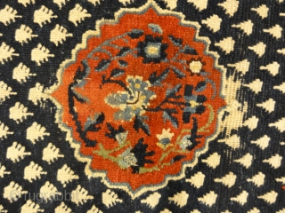 Beautiful Antique Tibetan Rug Woven Circa 1880 - Size: 2'3″ x 5′