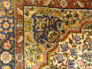 Antique Persian Garden of Paradise Kerman Rug - Size: 3′ x 5'2″