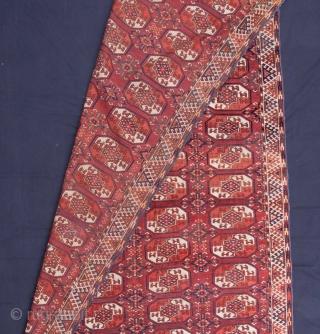 Turkmen Kyzylayak Main Rug 193 x 370 cm / 6'3'' x 12'1''