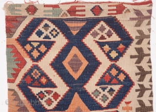 Central Anatolian Kilim Fragment 55 x 133 cm /1'9'' x 4'4''