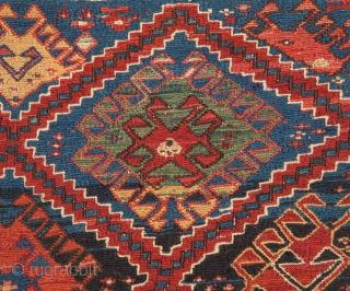 Soumak Mafrash Panel 94 x 45 cm / 37'' x17.7''