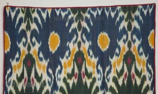 Uzbek Ikat Panel 140 x 178 cm / 4'5'' x 2'5''