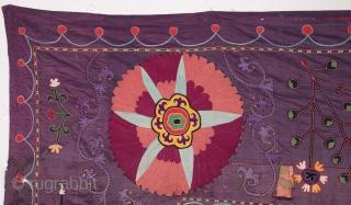 Shakrisabz Suzani Fragment 195 x 256 cm / 6'4'' x 8'4''