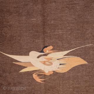 Mongolian Gansu Kilim 118 x 335 cm / 3'4'' x 10'11''