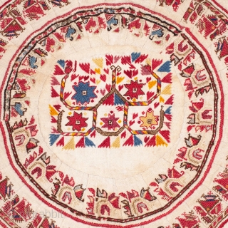 Macedonian Embroidery ( probably a tray cover ) 