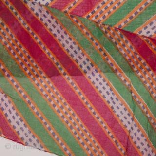Indian Tie and Dye Turban 20 x 545 cm / 0'7'' x 17'10''