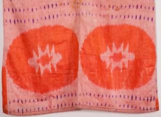 Uzbek Ikat shirt early 20th C.