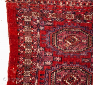 Turkmen Tekke Chuval with silk highligts