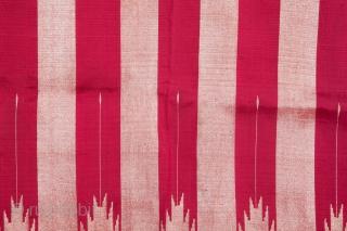 Syrian Silk Textile 103 x 222 cm/ 3'4'' x 7'3''