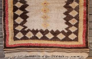 Old Anatolian Tulu Rug 105 x 204 cm / 3'5'' x 6'8''