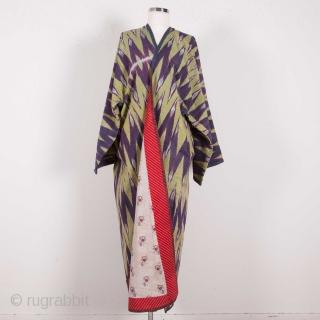 Central Asian Ikat Coat