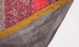 Kashmir Shawl Fragment 47 x 62 cm