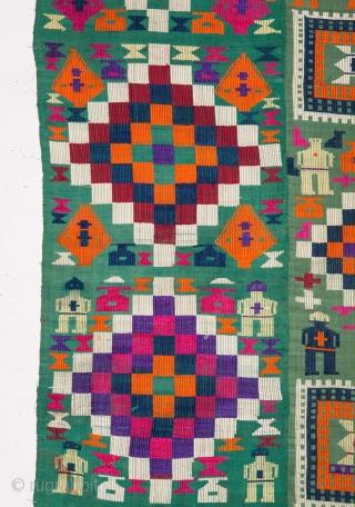 Persian Silk Weaving from Gilan 183 x 215 cm / 6'0'' x 7'0''