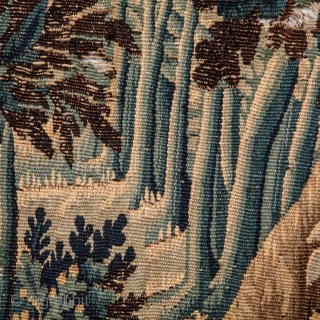 Flemish Tapestry Fragment 67 x 192 cm / 2'2'' x 6'3''