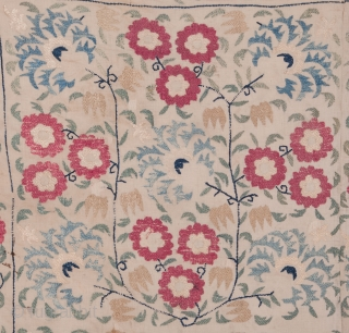 Ottoman Embroidery Fragment 108 x 134 cm / 3'6'' x 4'4''