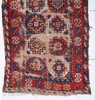 Caucasian Rug as found