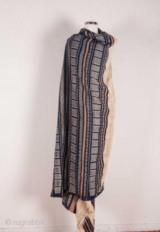 Tunisian shawl133 x 233 cm /4'4'' x 7'7''