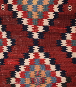 South Persian Kilim as found 132 x 307 cm