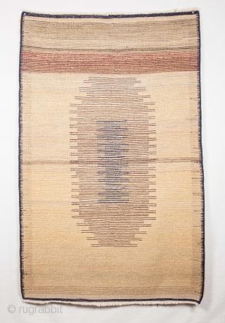 Vintage Central Anatolian Tulu Rug 105 x 165 cm / 3'5'' x 5'5''