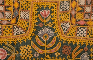 Indian Embroidery 64 x 85 cm / 2'1'' x 2'9''