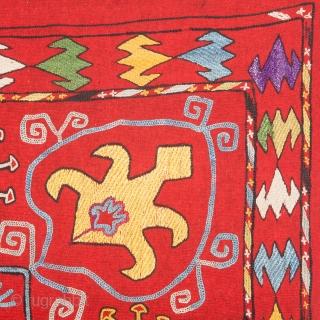 Uzbek Lakai Mirror Cover 52 x 53 cm / 20'' x 20.8''