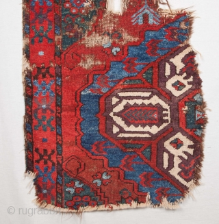 Central Anatolian Rug Fragment 57 x 157 cm / 22 x 62 inches
