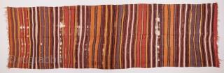 Central Anatolian Kilim 128 x 430 cm / 4'2'' x 14'1''