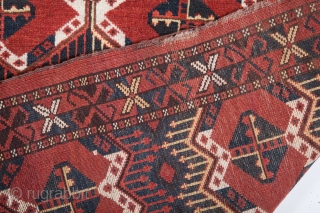 Turkmen Ersari Large Chuval 100 x 180 cm / 3'3'' x 5'10''
