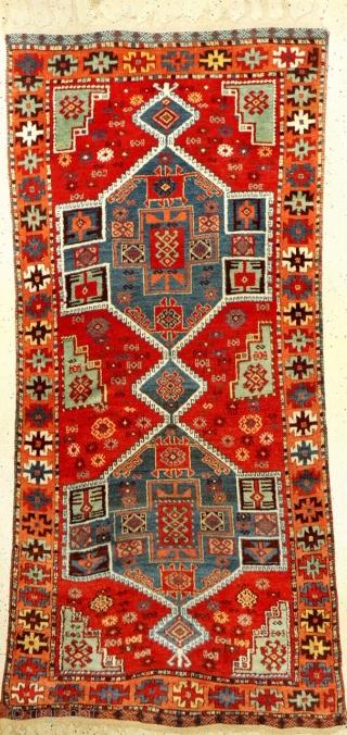 Anatolian Kurdish rug in untouched condition 220x100cm