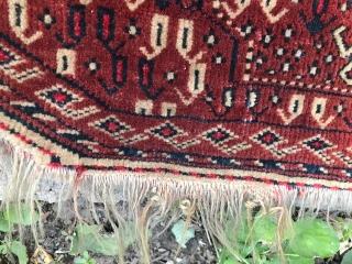 Antique Turkmen, Yomud, Prayer Rug 1900.