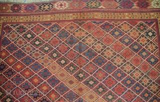 Antique very fine Afshar Horseblanket in very good condition 110x150cm