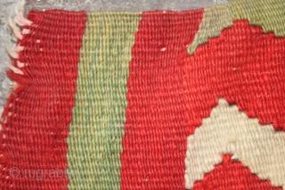 Rare mid 19th c Central Ukraine kilim circa 370 cm x 160