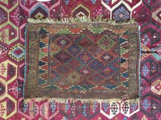 Jaff people khorjin face  mid 19th century  size 75 cm x 52 cm