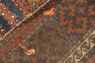 East Anatolian Anatolian Rug. It is from Antep (Gaziantep) city of Turkey. It has been made by Kurdish people.