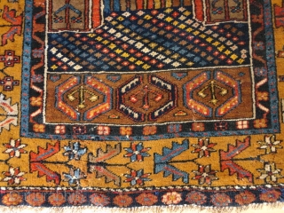Antique  Anatolien  Yahjaly  prayer rug  93 X 157 cm.  beautiful natural colours , very  dekorative pattern , good and full pile ,  one of the nicest of it provenans  ...