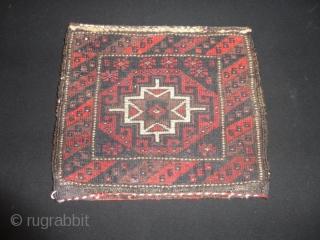 Very  fine  antique Belutch mini  bagface  24 X 28  cmm. , quality  wool , perfekt  condition .