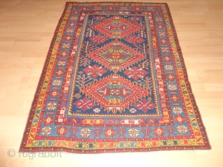Fine  antique  caucasian  Shirwan  rug  19 th. century  115 X 159  cm.   All  natural  lovely  dyes  with   ...