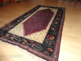 Antique  and  rare  Armenian  Karabagh  round 1900  107 X 188  cm.