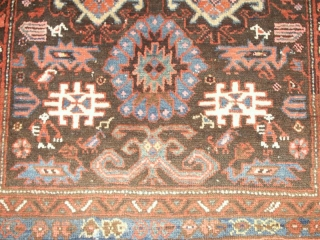 Small old Karabagh 98 X 153 cm , about 1900    good condition