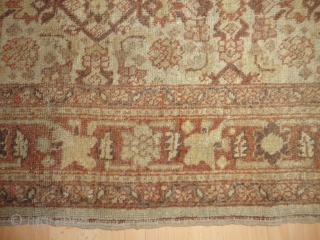 Antique  Täbris - Hadji Jalili  Nord-West  Persian  round  1900