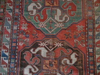Antique   Cloudband  Kazak  ( Chondoresk )  19 th. century