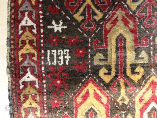 semi-Antique  Kasak  dat. 1937  112 X 187 cm. (  Armenien ? )