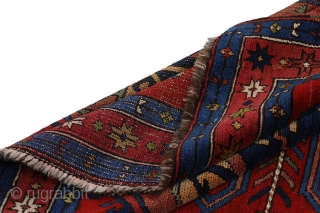 Kazak - old Carpet 202x140