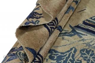 "Khotan Carpet 5'4""x7'10""(165cmx239cm) See more details here: https://www.carpetu2.co.uk/id/ant061-2/Antiques,Offers,Khotan,/"