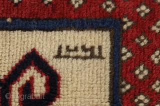 """Kazak - Caucasus Caucasian Carpet 7'3""""x5'6"""" (221cmx169cm) See more details here: https://www.carpetu2.co.uk/id/ant183-1321/Nomadic,Antiques,Offers,Kazak,Caucasus/"""