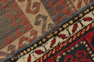 "Kazak - Caucasus Caucasian Carpet 7'3""x5'6"" (221cmx169cm)