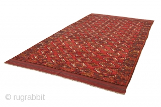 Antique Bokhara Turkaman Carpet. Find more information https://www.carpetu2.com